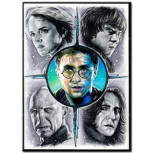 Full drill square diamond painting 5D DIY diamond embroidery Harry Potter Cross Stitch Full Round Mosaic Decoration Gift A1105