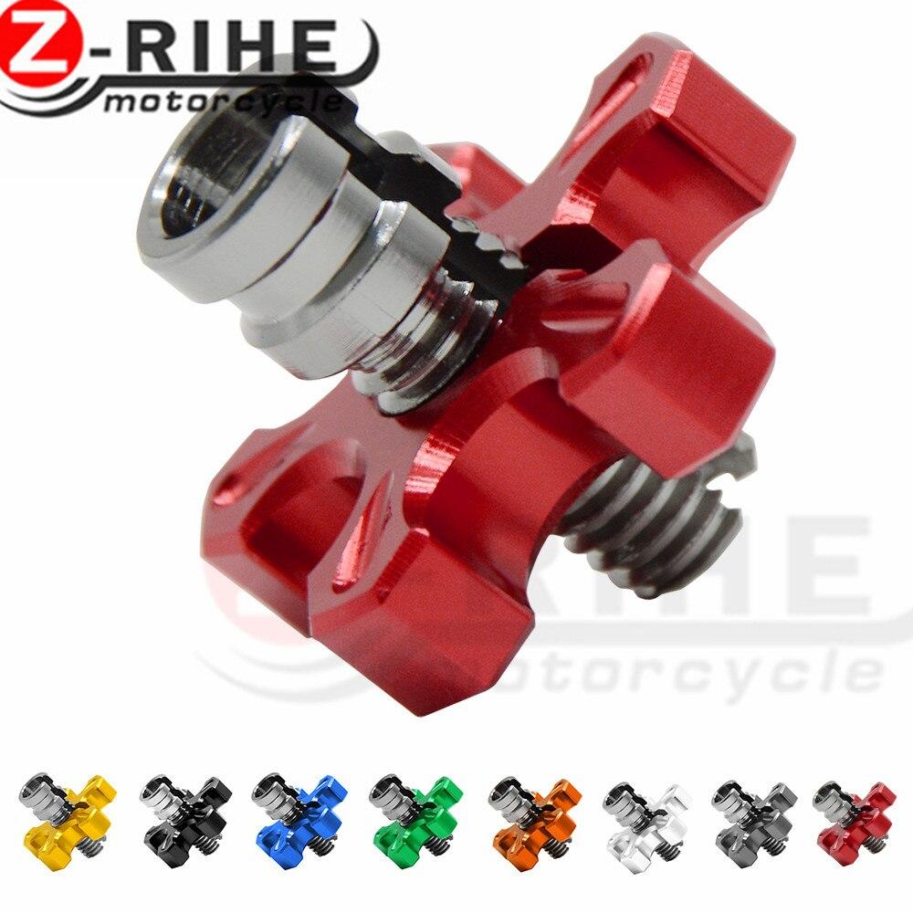 Para CNC M8 regulador del alambre del Cable del embrague de la motocicleta para Honda MSX125 CR 125/Magna Crf450r vtx 1300 NC700X NC750X VT 750 Accesorios