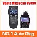Promotion 2016 Good Vgate Maxiscan VS890 OBD 2 Tool Better than MB880 Auto Scanner Free shipping 3 Years Warranty