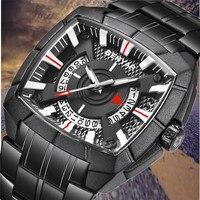 Новинка 2019 года BENYAR брендовые Роскошные кварцевые мужские часы спортивные военные часы водонепроницаемые наручные часы Relogio Masculino женские