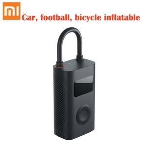 Image 5 - Original xiaomi mijia inflator portátil inteligente digital sensor de pressão dos pneus bomba elétrica para motocicleta carro futebol