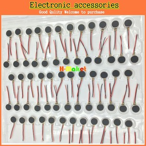 Image 5 - 100 sztuk/partia telefon komórkowy wibrator silnika 0827 monety wibracyjne magnes stały silnika naleśnik MIni silnik 8mm x 2.7mm darmowa wysyłka