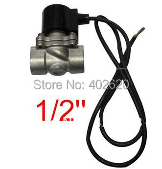 1/2'' DN15 Port Under Water Electric Solenoid Valve Stainless steel SS304 Waterproof Coil Music Fountain Valve,DC12V,24V,AC220V car solenoid valve coil connector 24v dc inner hole diameter 20mm high 55mm