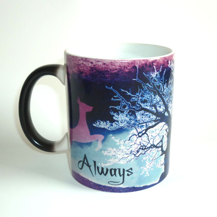 Color Changing Green Harry Potter Magic mug Cup After all this time Always