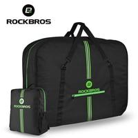 ROCKBROS 20inch Big Folding Bike Carrier Packing Bag Foldable Bike Bag With Backpack Portable Anti dust Bicycle Transport Bag