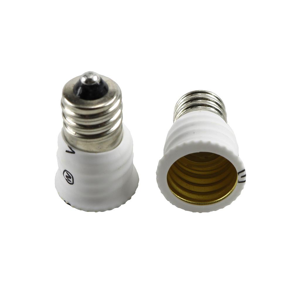 E12 to E14 Lamp Holder Light Converter Adapter  Light Accessory