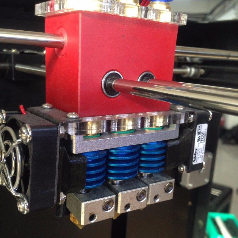Creatbot DX Plus Triple Extruder Metal Frame 3d Printer