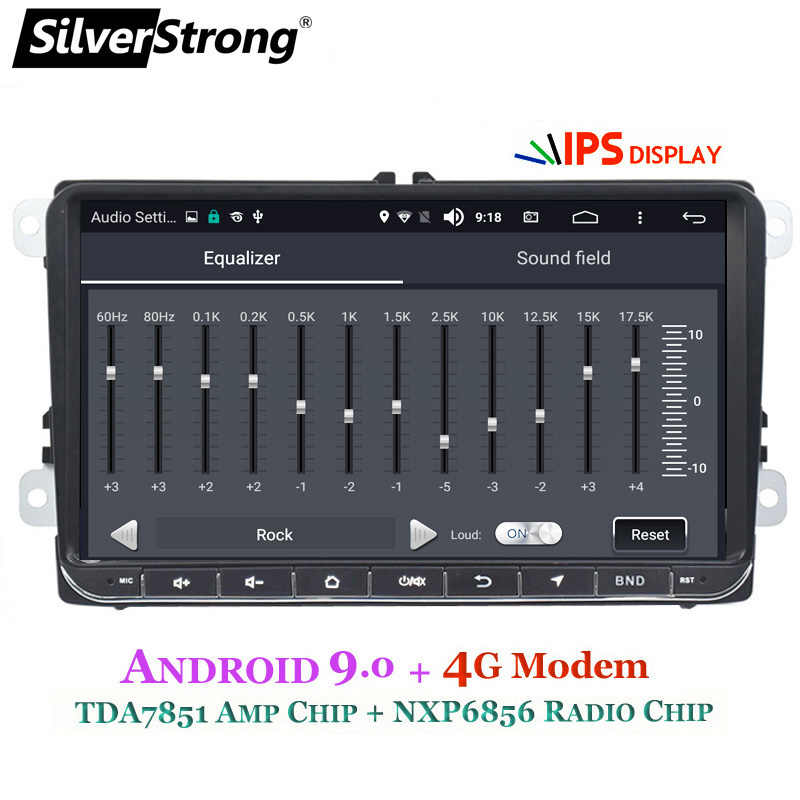 SilverStrong coche DVD Android9.0 Radio coche ANDROID para VW Golf6 Golf5 para Tiguan para Passat B6 B7 para Polo GPS android 902BM3
