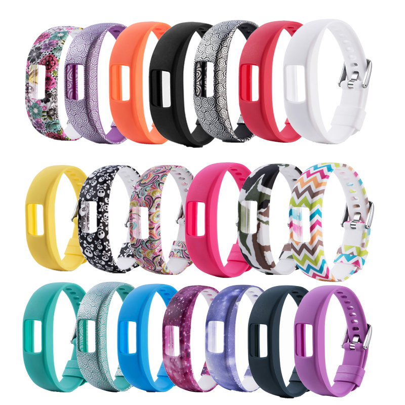 Silicone Wrist band for Garmin Vivofit 4 Strap Activity Fitness Tracker Replacement Watchbands For Garmin Vivofit4 Wristband