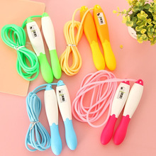 cn herb Weight Loss rope skipping Children rubber counting Four color lose weight free shipping