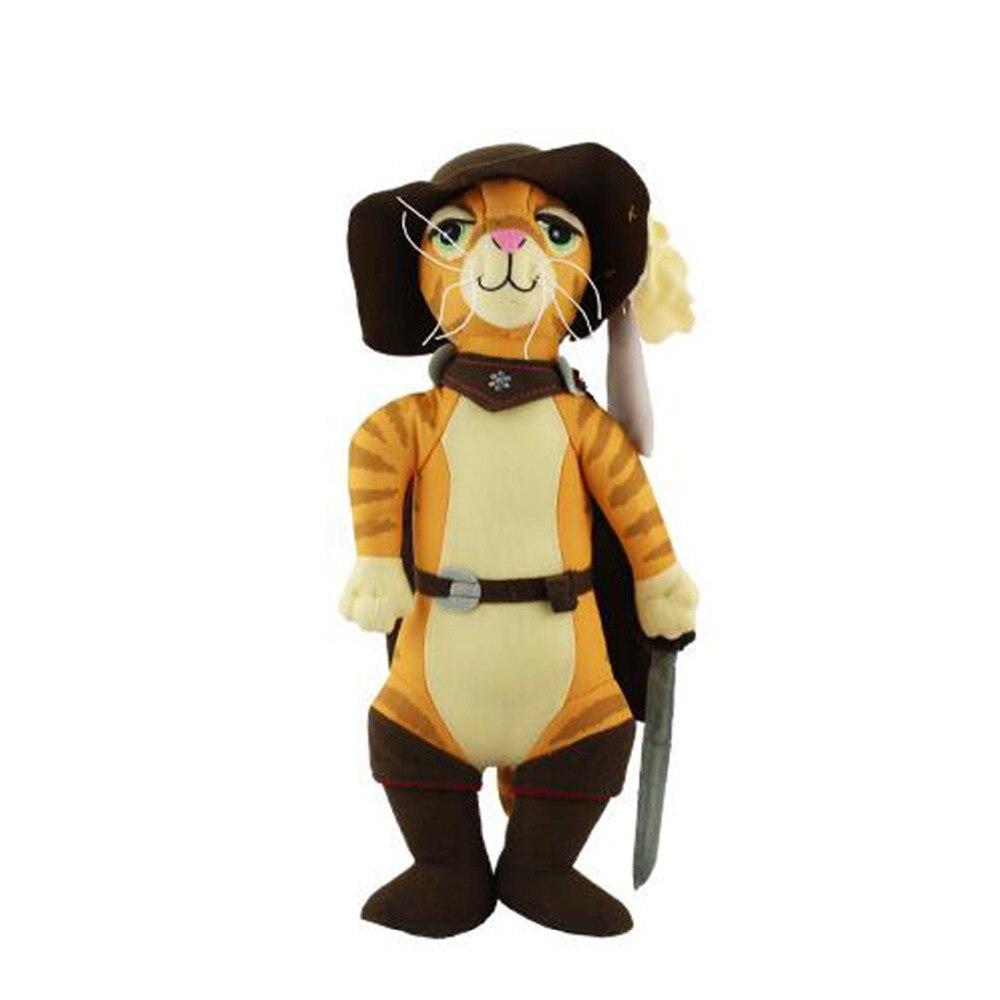 Shrek Kot W Butach Miękkie Wypchanych Zwierząt Zabawki Pluszowe 32
