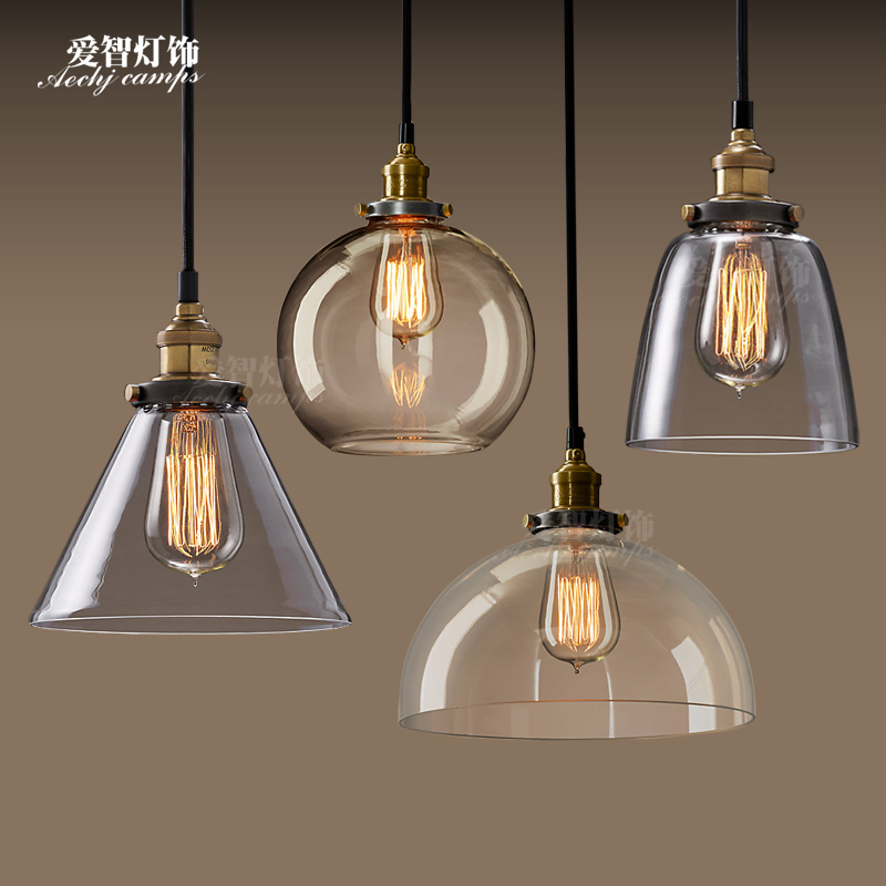 European style retro glass chandelier North Village Industrial study the living room bedroom living rough bar lamp GY288 north european style retro minimalist modern industrial wood desk lamp bedroom study desk lamp bedside lamp