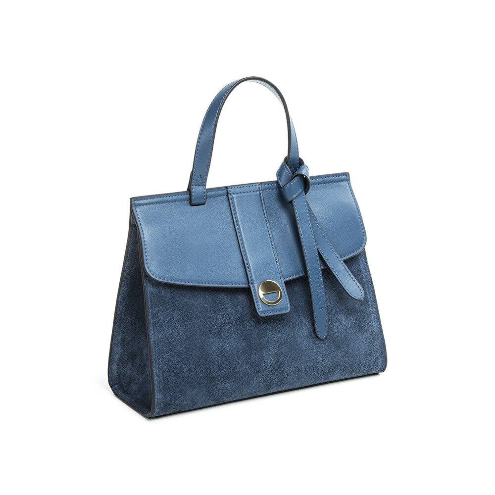 2018 NEW Fashion Women Genuine Leather Bags Casual Totes Cowhide Lady Handbag Shopping Bag Black Business Handbags цена