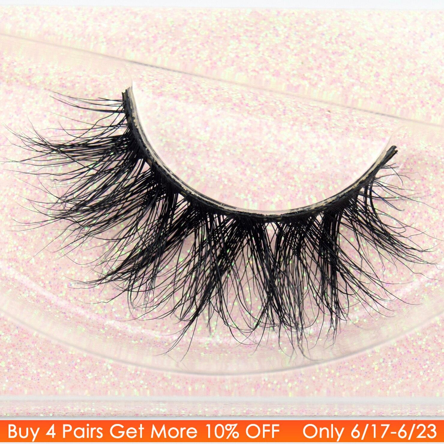 b7ae38400a2 Visofree Mink Eyelashes 100% Cruelty free Handmade 3D Mink Lashes Full  Strip Lashes Soft False Eyelashes Makeup Lashes E11