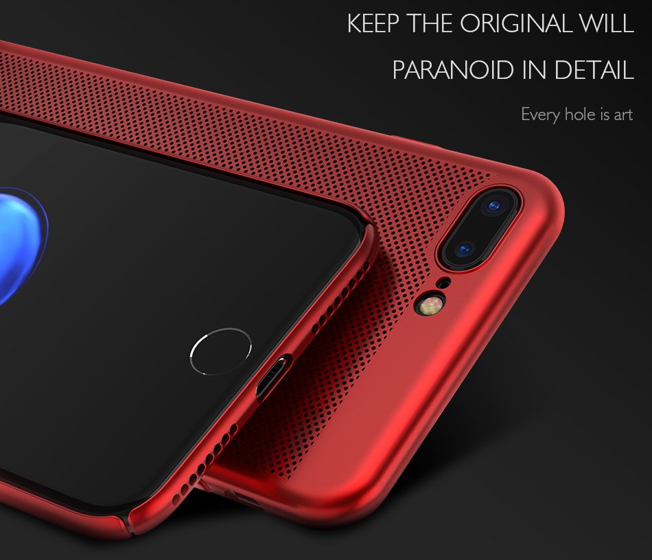 HTB1GUv8c7fb uJjSsrbq6z6bVXaV - Ultra Slim Phone Case For iPhone 6 6s 7 8 Plus Hollow Heat Dissipation Cases Hard PC For iPhone 5 5S SE Back Cover Coque X S MAX
