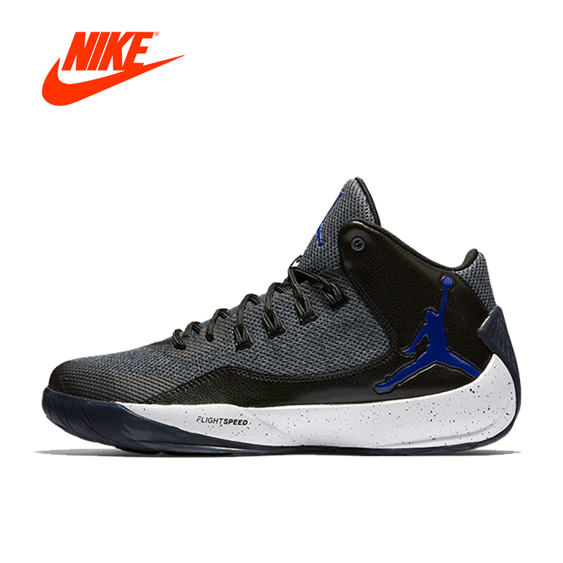 Original New Arrival Official  RISING HIGH AJ Nike Men's Breathable Basketball Shoes Sports Sneakers guonan  ma renminbi rising  a new global