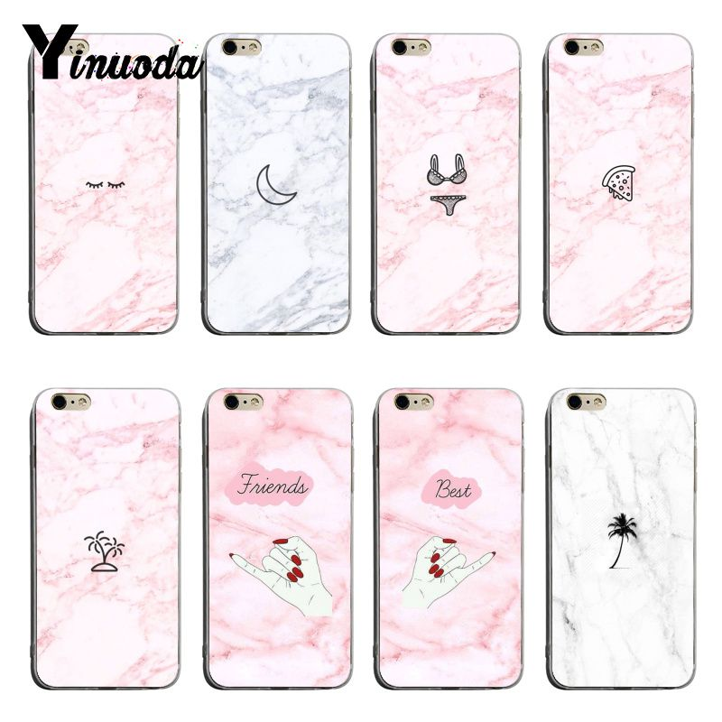 Us 0 66 33 Off Yinuoda Cute Little Icon On Marble Background Top Detailed Popular Phone Case For Iphone X Xs Xsmax Xr 8 7 6splus Cellphones In