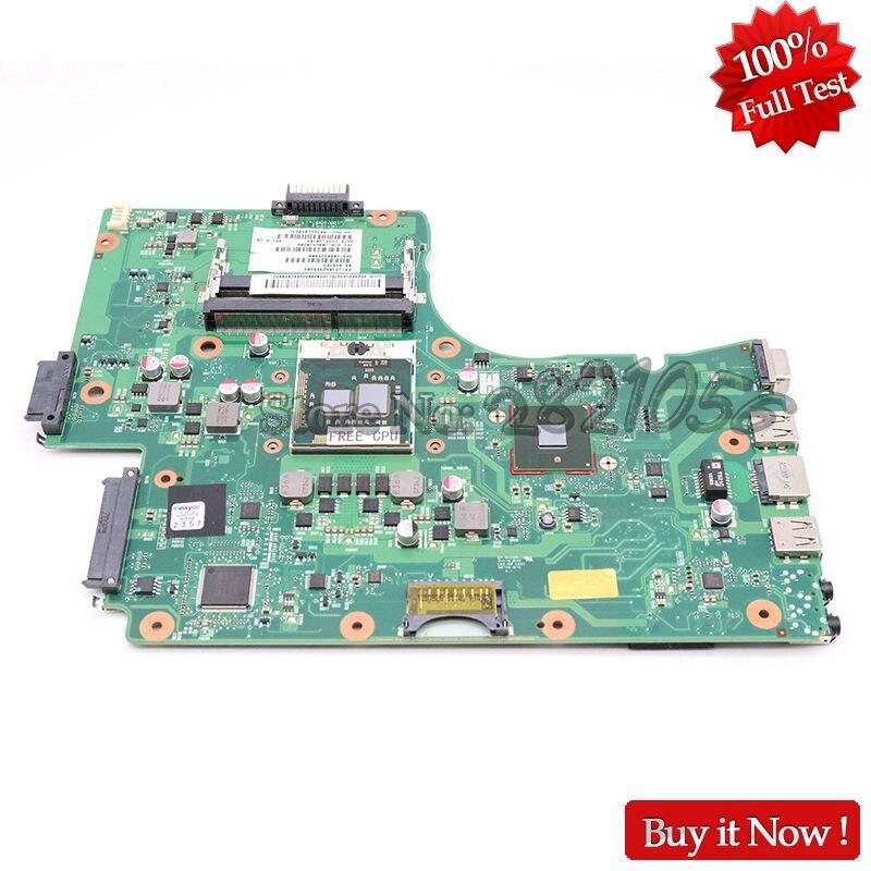 Nokotion placa-mãe v000225000, placa-mãe para toshiba satélite c655 c650 laptop ����55 ddr3, cpu sem cpu, totalmente testada
