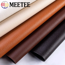 Meetee 100X138cm 0.5mm Thick PVC Synthetic Lesther Fabric Fax Leather Fabriv for Bag Sofa DIY Manual Luggage Process Accessories