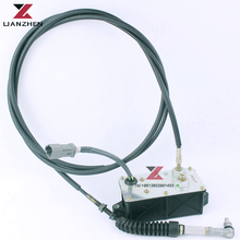 Excavator Accel Actuator  Throttle Motor Assembly 21EN32300 21en32370 for Hyundai excavator parts R110-7 R130-5 R220-5 R220-7 excavator parts r original throttle potentiometer