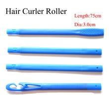 18 stks / set 75 cm met diameter 3 cm plastic Magic haar curler nieuwe magic roller 2017 nieuwe verkoper