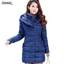 1PC Winter Jacket Women Hooded Parkas Mujer Thick Cotton Padded Winter Coat Women Jaqueta Feminina Inverno Z918
