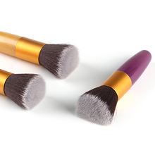 New Portable Powder Face Blush Foundation Brush Makeup Cosmetics Beauty Tool