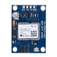 NEO-M8N APM2.5 UBlox GPS Modülü için 3-5 V GYGPSV5-NEO GYGPSV1-8M Pixhawk APM ile Seramik Aktif Anten