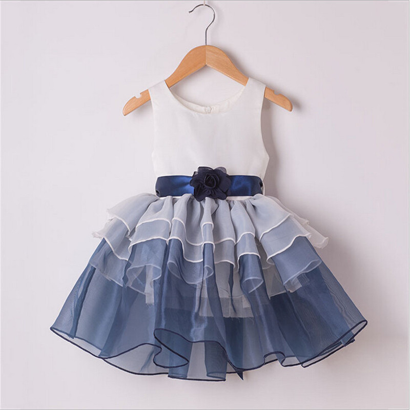 Aliexpress.com : Buy Baby girl party dress summer sleeveless ...