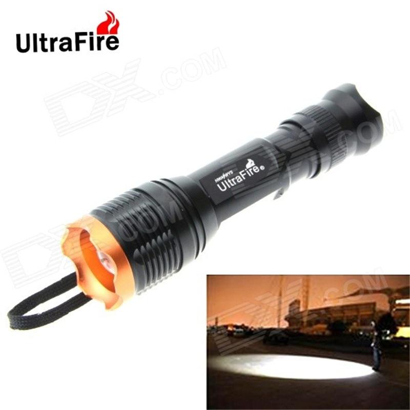 Ultrafire tactical flashlight XM-L T6 5 mode 3800LM torch lantern LED glare flashlight 18650 flashlight luz handheld flash light