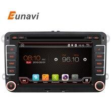 2 Din Android 6.0 Audio Del Coche De VW Dvd GPS Para GOLF 6 Polo Bora JETTA PASSAT B6 Tiguan SKODA OCTAVIA 3G OBD