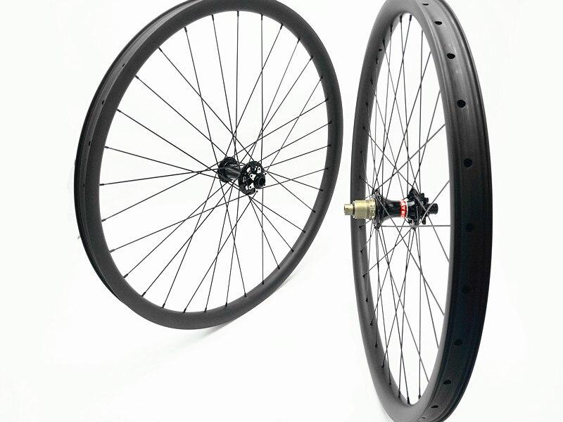 29er carbone vtt roues 100X10mm 135X10mm 791 792 moyeux VTT vélos roues 27mm 30mm 35mm largeur roue pilier 1423