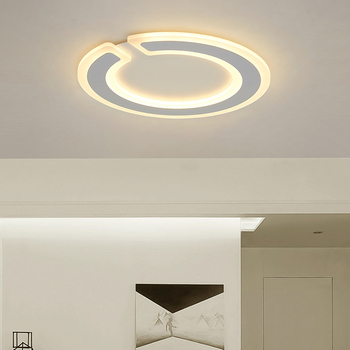 New designs Ceiling Lights for living room dining room bedroom Ultra-thin Luminaire plafonnier dimming RC round Ceiling Lamp led