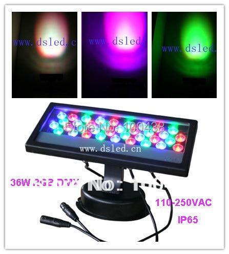 Vysoce kvalitní, CE, 36W RGB DMX LED nástěnná podložka, RGB DMX - LED Osvětlení