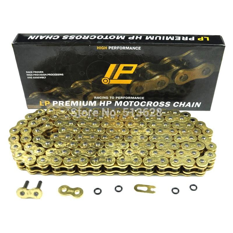 520 Тангаж 122 ссылке сверхмощный уплотнительное кольцо цепь мотоцикла для Honda CR125 CR250 CR500 CRF250 CRF450 CRF230 XR250 XR400 XR600 XR650