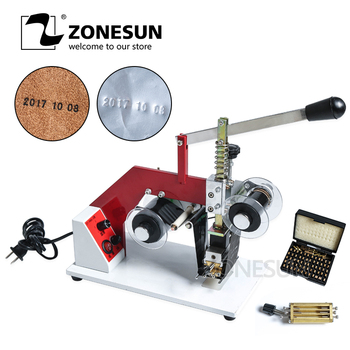 ZY-RM5-E Color Ribbon Hot Printing Machine,Heat ribbon printer PT,PE,KT,OPP,COP aluminum foil bag printer,company logo printer