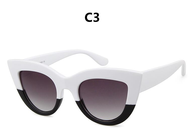 HTB1GUyVRpXXXXX7XpXXq6xXFXXXW - Women's cat eye sunglasses ladies Plastic Shades quay eyewear brand designer black pink sunglasses PTC 221