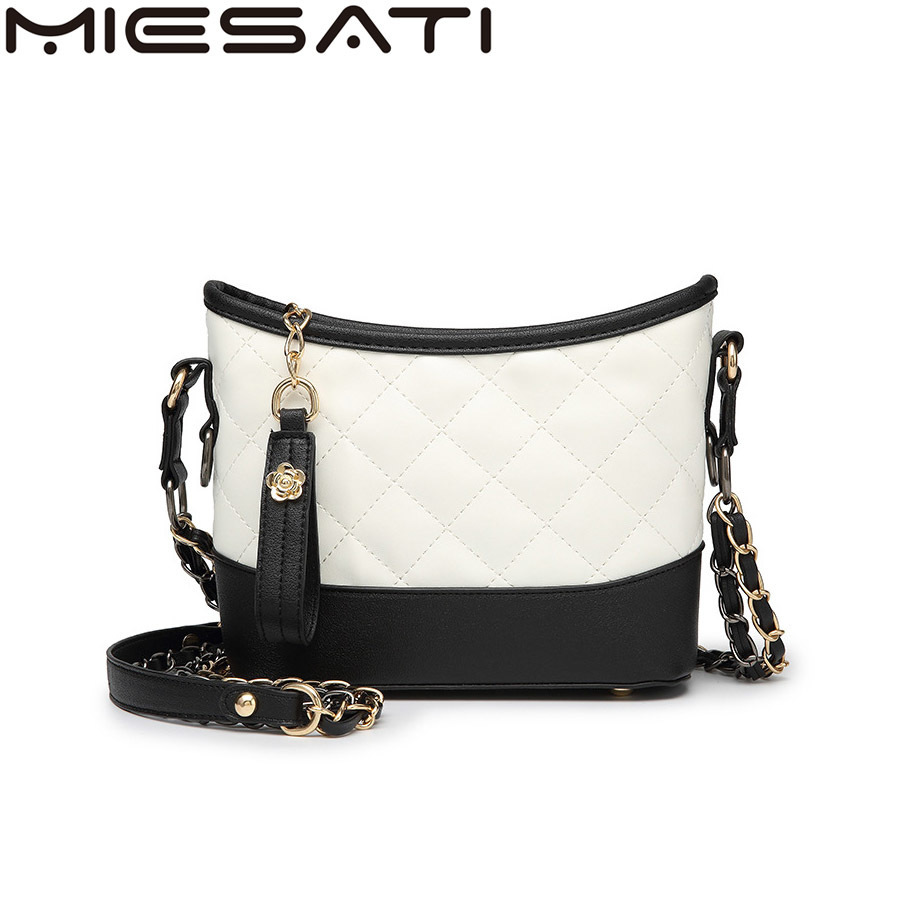 MIESATI brand Crossbody bags Rhomboid Lattice women package handbag High quality ladies  ...