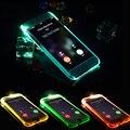 Чехол для iPhone для Samsung Galaxy S5/S6/S6 Edge/Плюс S7/S7 edge 5 5S SE 6 6 S 7 Плюс СВЕТОДИОДНАЯ Вспышка Напомнить Входящий Вызов Крышка