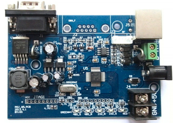 4-20mA Huidige Analoge Milieubescherming 212 MODBUS LED Controlekaart Protocol Converter Board (Q7)
