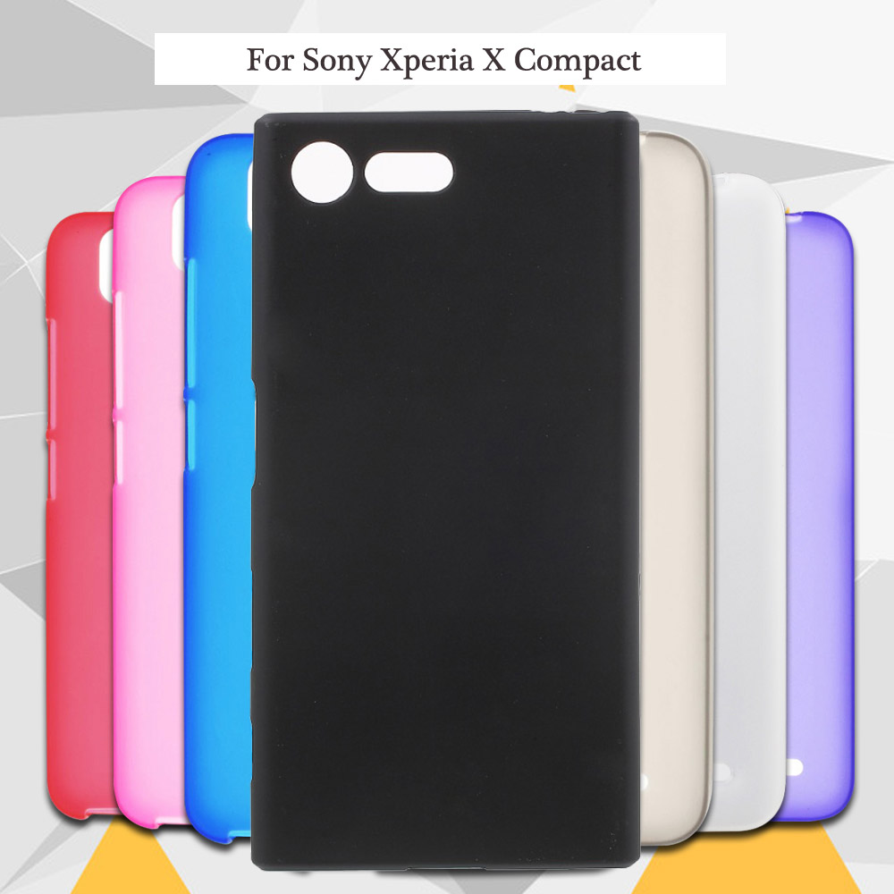 Limelan New For Sony Xperia X F5321 X Compact High Quality Black TPU Matte Silicone Gel Skin Phone Back Case for Sony X mini