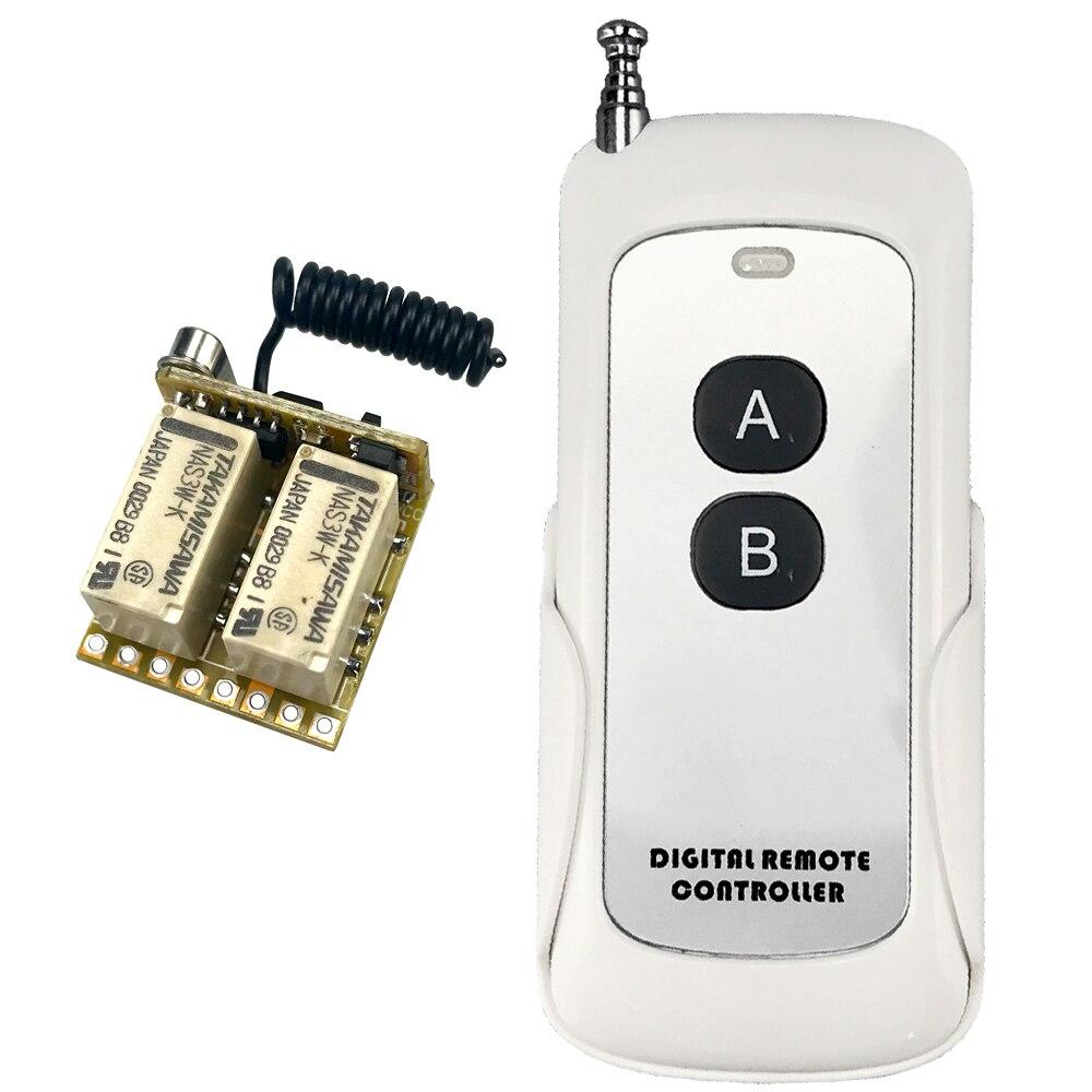 Gewidmet 2ch Relais Drahtlose Fernbedienung Schalter 433 Mhz Rf Mini Kleine 3,7 V 5 V 6 V 9 V 12 V Momentary Controller Modul Trigger Reset-taste Schrecklicher Wert Unterhaltungselektronik