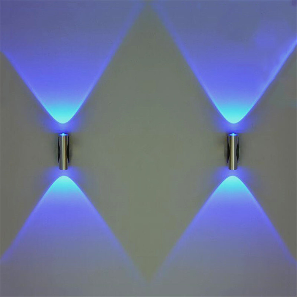 Mordern Led Wall Light 2W 6W Wall Lamp Sconces For Bedroom Corridor Lamp Reading Lamp AC85-265V Indoor Wall Decoration Light