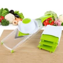 4 Blades Mandoline Slicer Vegetable Chopper Vegetable Slicer Tomato Slicer Julienne Carrots Kitchen Accessories