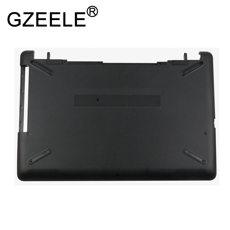 GZEELE New for HP Pavilion 15T-BR 15T-BS 15Z-BW 15-BS 15-BW Bottom base Case lower Cover 924907-001 laptop replace shell black new for hp zbook 15 laptop bottom case base cover black series 734279 001