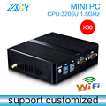 Computador de mesa, Mini PC, 3205U 1.5 GHz, Laptop, pc Barebone, Vídeo HD, Suporte a USB teclado e Mouse sem fio
