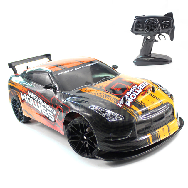 RC Car 1:10 4WD 2.4G Remote Control Cars High Speed 22km/h Off-Road 4 CH Vehicle Car Toys Electronic car for Boy Model Kids Gift 1