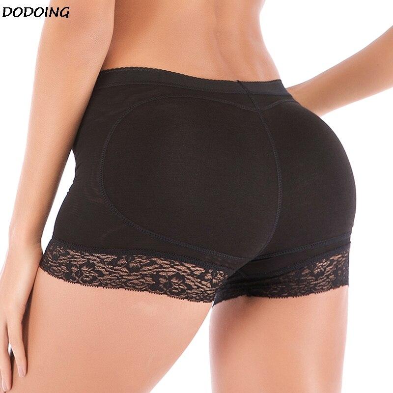 Womens Butt and Hip Enhancer Booty Padded  Panties Body Shaper Seamless Butt Lifter Panty Shapewear Lace Hem