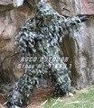 Woodland Digital francotirador Ghillie traje tiras ligero CS Wargame táctico Ghilly traje envío gratis