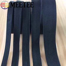10Meters Eco-Friendly Polyester Jacquard Webbing Ribbon Band Backpack Webbings Strap Tape Dog Collar Outdoor Bag Garments Parts